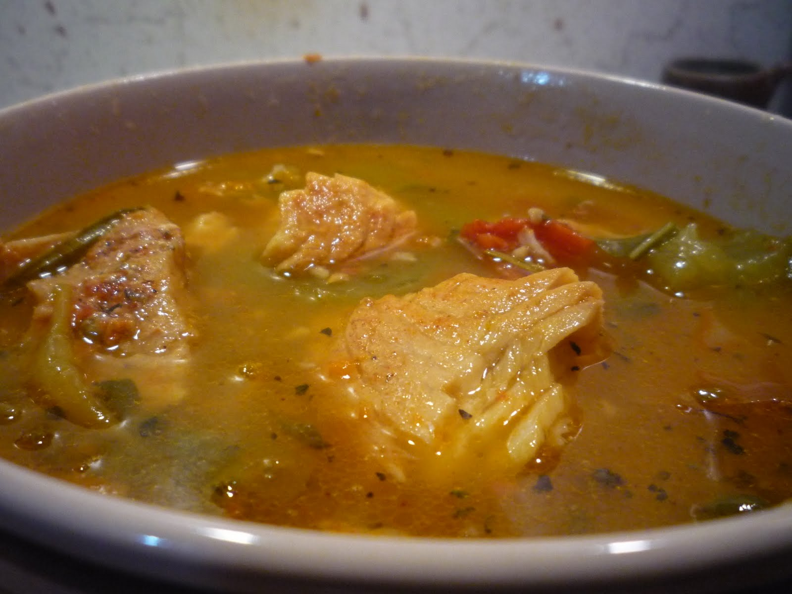 Tomato Basil Fish Soup – Seriously Soupy