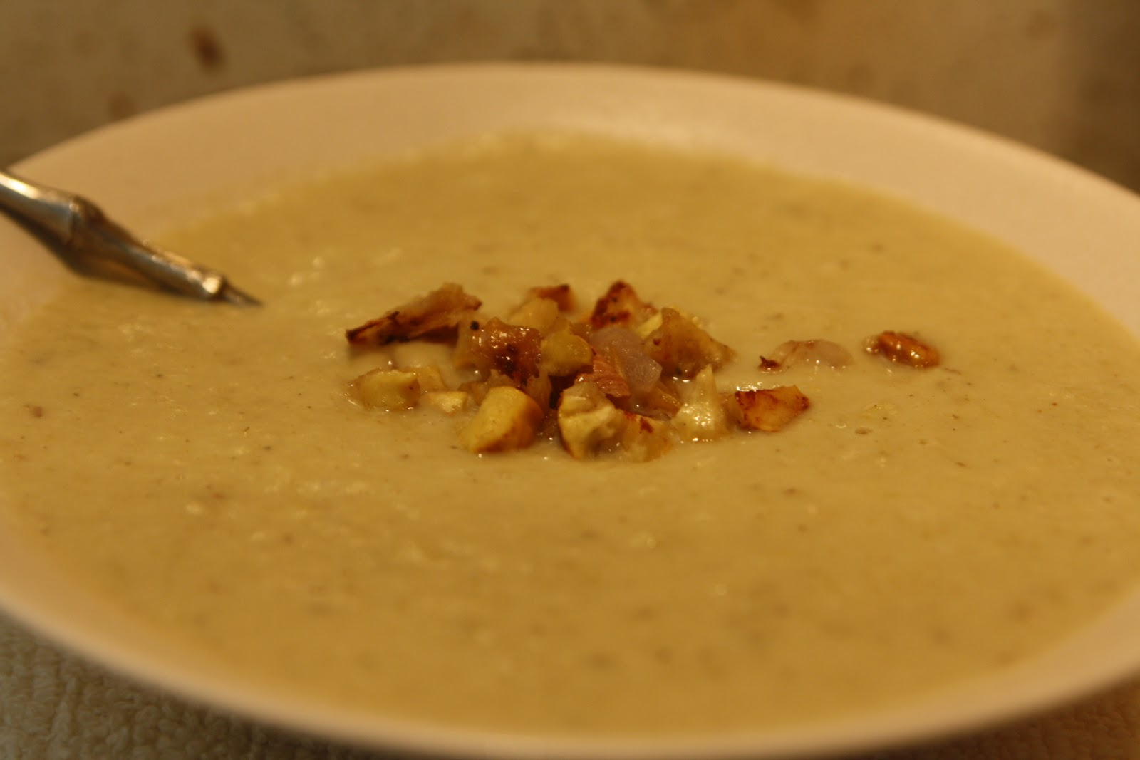 Holiday Soup Ideas: Chestnut, Celery and Apple Soup with Roasted ...