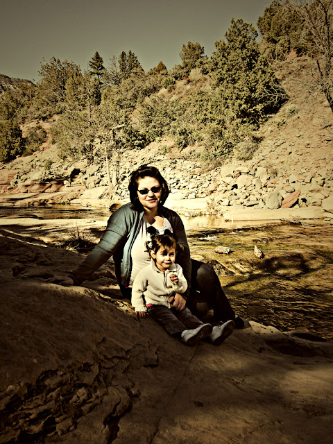 Me and Afton by Oak Creek