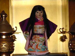 La muñeca Okiku Okiku-doll