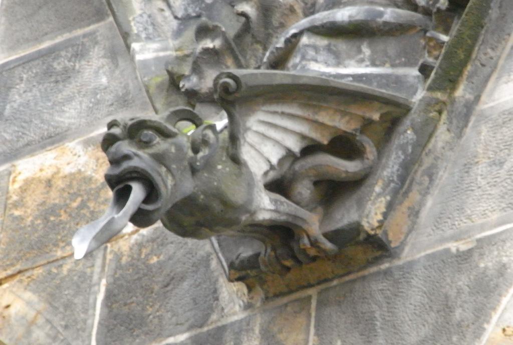 saraccino inspirations gargoyles peterskirche leipzig