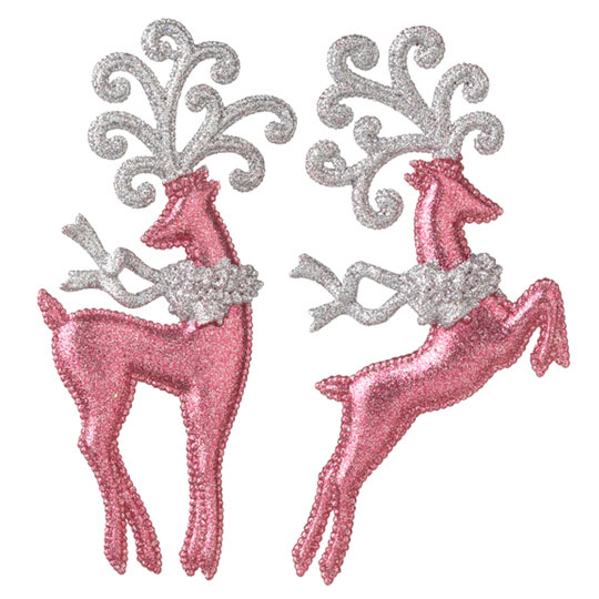 Shelley b decor and more pretty in pink christmas collection for Pink christmas decorations