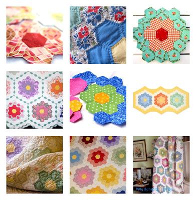 The rikrak studio the quilt catalogue grandmother 39 s - Grandmother s flower garden quilt ...