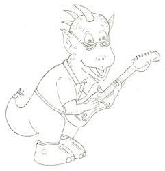 Mascote da Banda