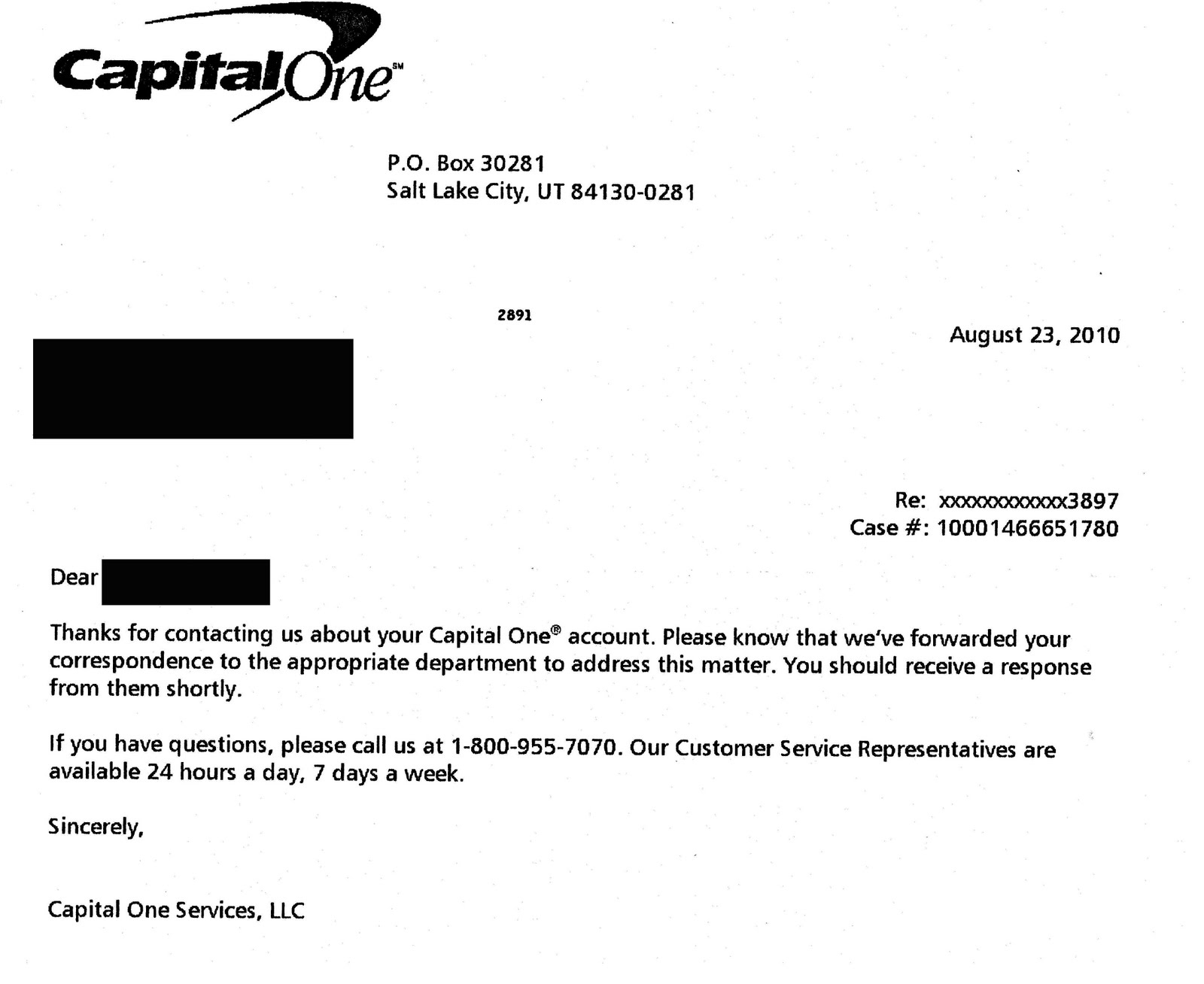 My fight with Capital One Credit card