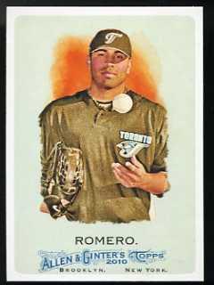 2010 Allen & Ginter Ricky Romero