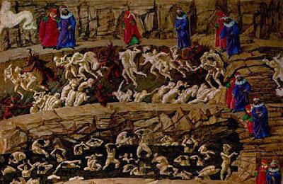 Os 9 Círculos Dantescos