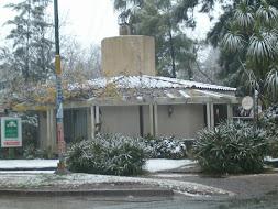 Nieve en Villa Udaondo 2007