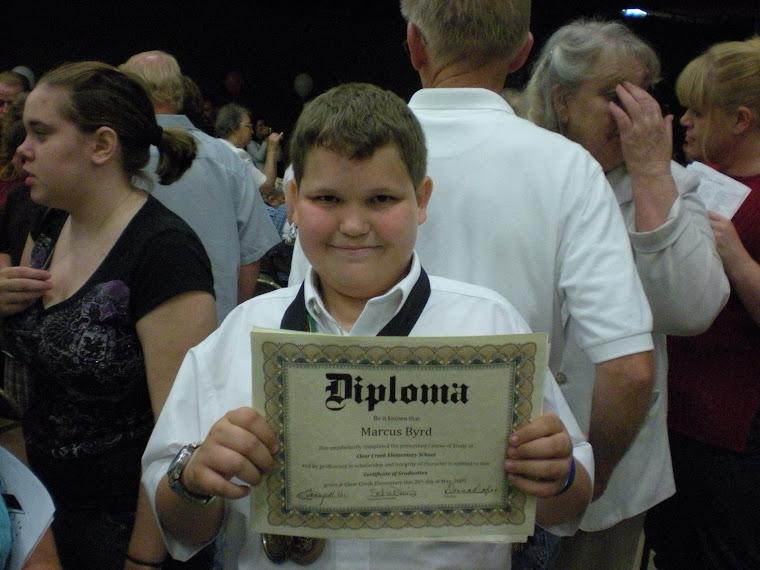 Marcus' 6th Grade Graduation