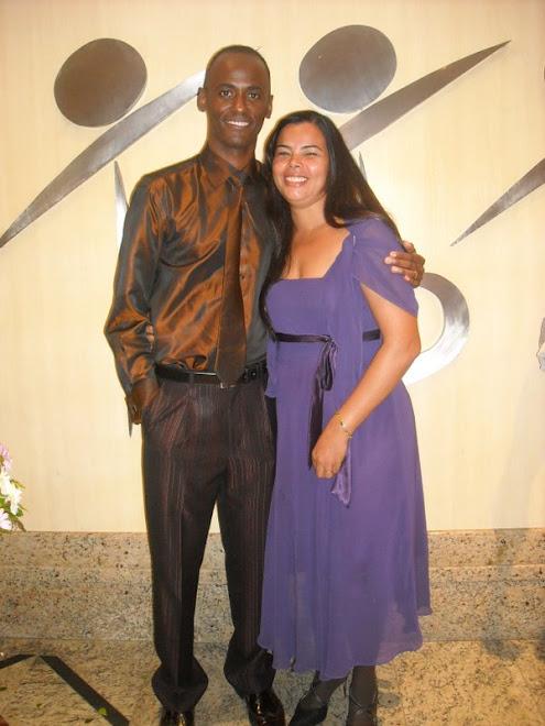 Eu e minha esposa Madalena Braga
