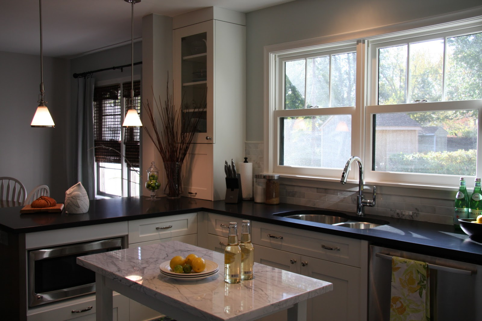 One wall kitchen floor plans -  Trends Are Moving Toward Floor Plans That Are More Compartmentalized This House Needed To Maintain Some Separation And Opening Up Just One Wall Keeps