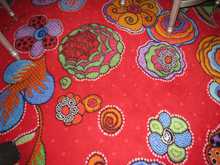 Mesmerizing carpet at the Wynn Las Vegas