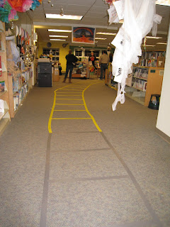 Enter through the Kinnelon Library and step onto the Yellow Brick Road