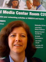 CB Whittemore at HIMSS10 Social Media Center