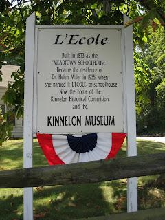 Kinnelon's L'Ecole Museum