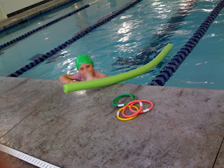Having fun at the Butler NYSC pool