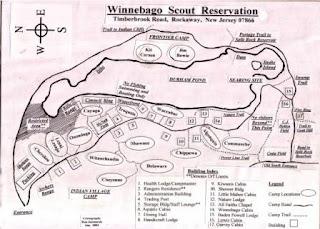 Durham Pond Historic Trail Map