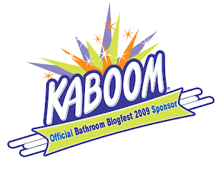 Kaboom sponsors Bathroom Blogfest 09