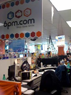 Zappos' fun office environment
