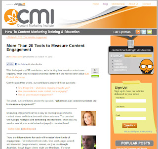 CMI: Which Tools Help You Measure Engagement?