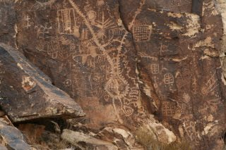 Parowan Gap Zipper Glyph