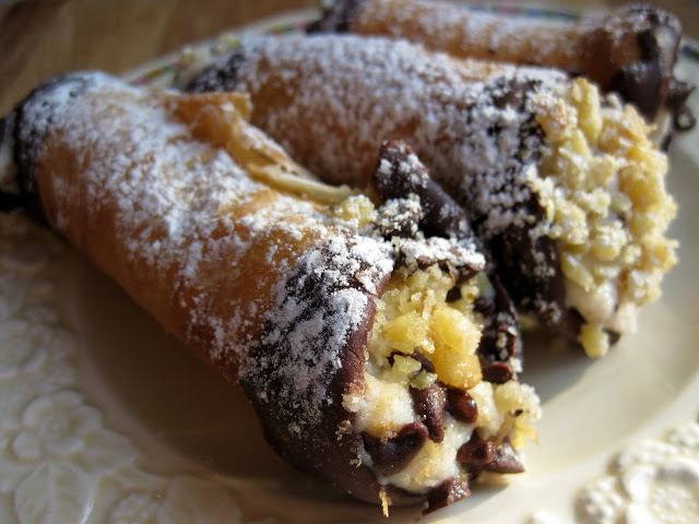 picture of family cannoli shell recipe