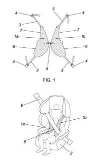 Invento: Chaleco de sujeción infantil para coches