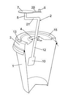 Nuevos inventos: Vaso con cuchara giratoria