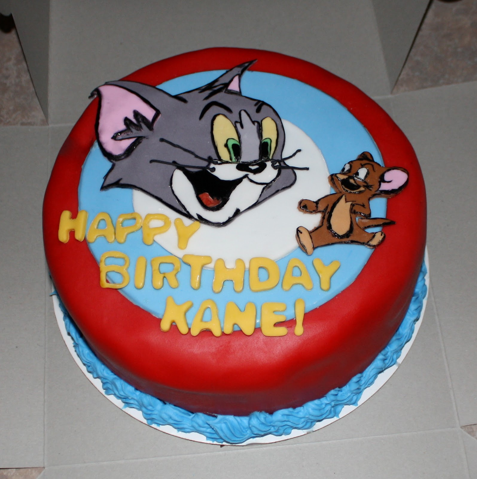 Baked Goods Tom And Jerry