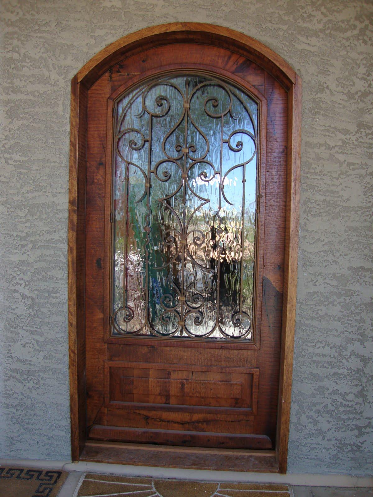 mesquite company sonora puerta principal de madera de