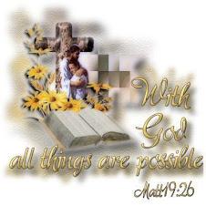 La foi rend toutes choses possibles