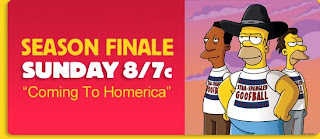 Simpsons Season Finale