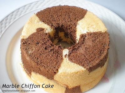 Marble Chiffon Cake Recipe Singapore