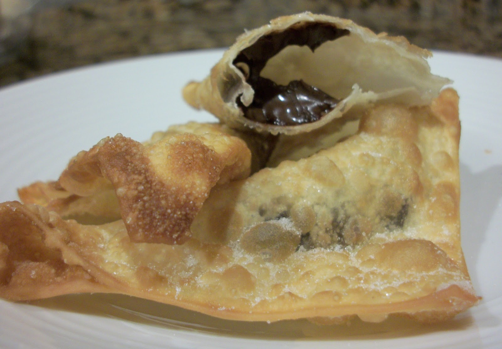 Crunchy Fried Chocolate Wontons Recipes — Dishmaps