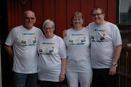 Arvid, Marianne, Tone og Morten
