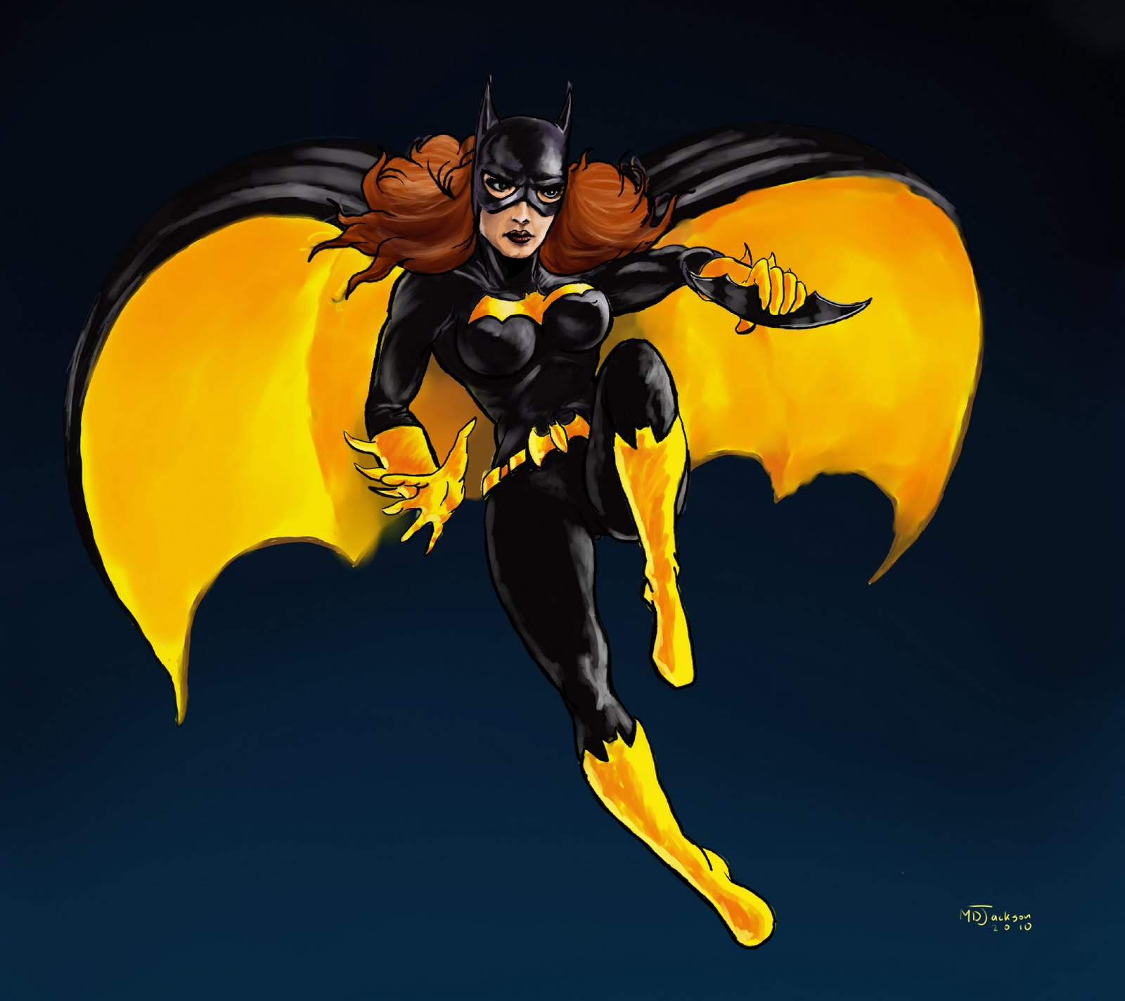 Yeah, so hereu0026#39;s that Batgirl Picture I talked about in an earlier post ...