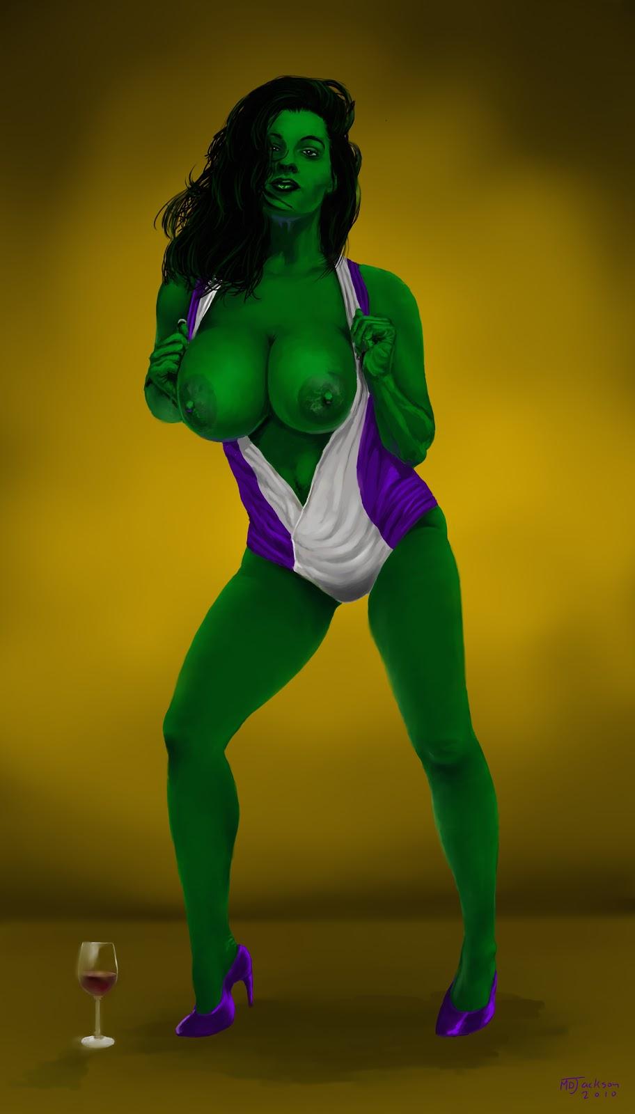 Jackson Art: SHE-HULKIE