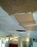 bahagian dalam..atap sudah bocor