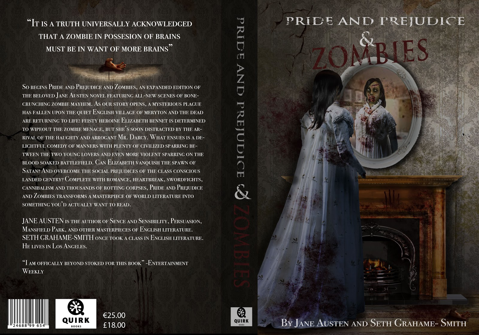 pride and prejudice and zombies book report The paperback of the pride and prejudice and zombies: pride, predjudice, and zombies book report for the graphic novel this fantastic book is one of the best.