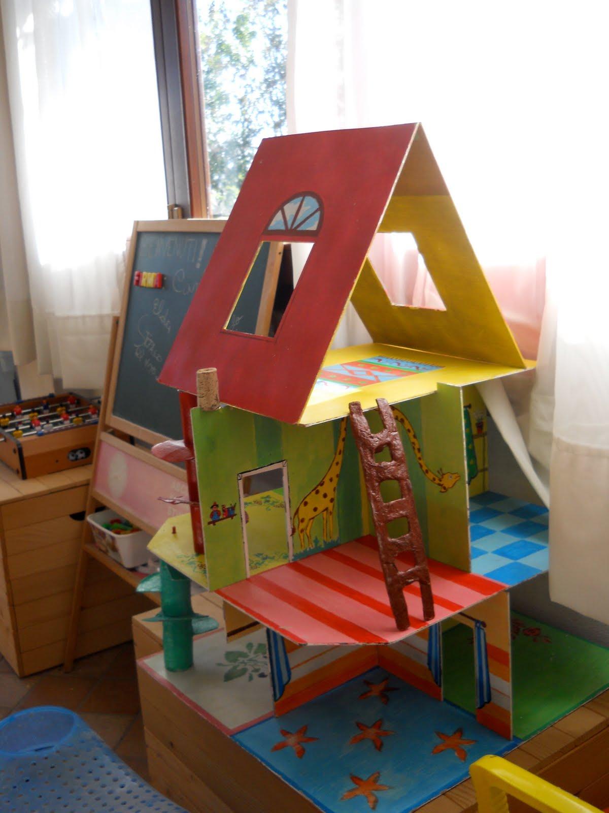 La scintilla casa per i bambini fai da te - Casa gonfiabile per bambini ...