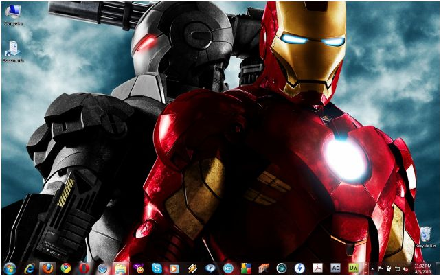 Iron Man Aero Theme For Windows Gooood Torrent Download