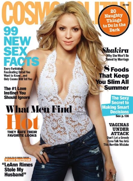Cosmopolitan Magazine 99 New Sex Facts - July 2010