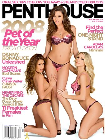 PentHouse Magazine Best Oral Sex Tips - March 2008 [Dow