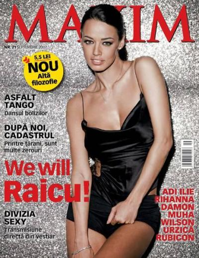 Maxim Magazine Romania - January 2010