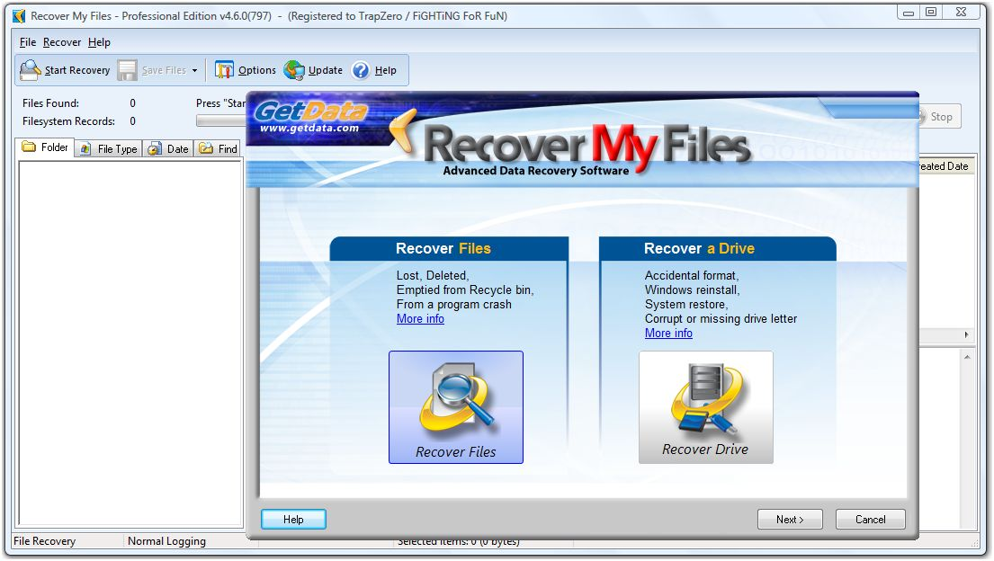 download free recover my files with crack
