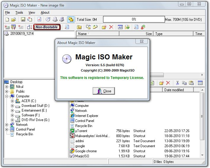 Magic iso 5.4 full build with serial download