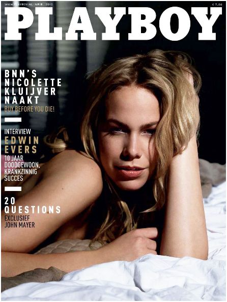 Playboy Magazine Netherlands - May 2010
