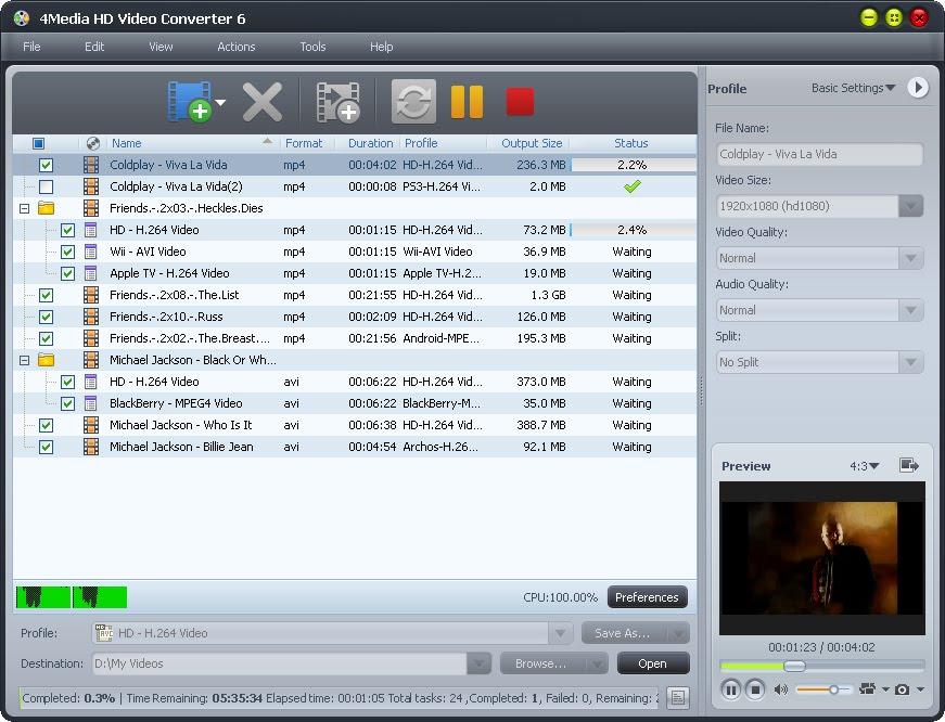 4media hd video converter serial key