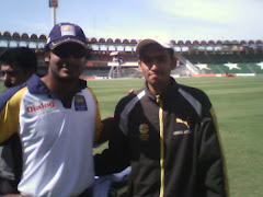 AMMAD AFTAB  WITH SANGAKARA