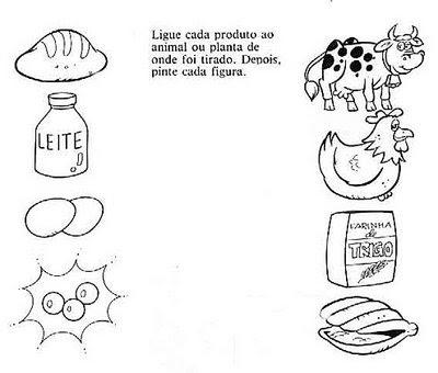 Alimenta o saud vel 21 Atividades sobre alimentos para crianças